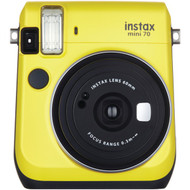 FUJIFILM 16496122 Instax(R) Mini 70 Instant Camera (Yellow) (R-FDC16496122)