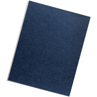 FELLOWES 52098 Expression Linen Presentation Covers , Letter, 200pk (Navy) (R-FLW52098)