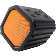 ECOXGEAR GDI-EGPB100 ECOPEBBLE Bluetooth(R) Speaker (Orange) (R-GDIEGPB100)