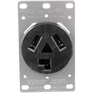 5207 Single-Flush Dryer Receptacle (3 wire) (R-GE41323)
