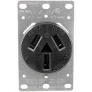 5206 Single-Flush Range Receptacle (3 wire) (R-GE41523)