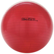 GOFIT GF-55BALL Exercise Ball with Pump (55cm; Red) (R-GOFGF55BALL)