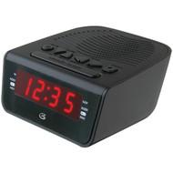 """GPX C224B .6"""" LED AM/FM Alarm Clock (R-GPXC224)"""