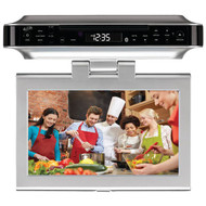 "GPX IKTD1037S 10"" Under-Cabinet DVD/CD Bluetooth(R) Player with FM Radio (R-GPXIKTD1037S)"