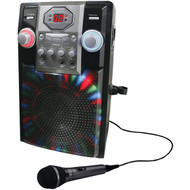 GPX J182B Portable Karaoke Player (R-GPXJ182B)