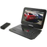 """GPX PD1053B Portable 9"""" DVD/CD Player (R-GPXPD1053B)"""