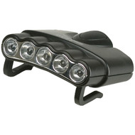 CYCLOPS CYC-HC5-W ORION 5 Hat Clip Light with 5 Clear LED Lights (R-GSMCYCHC5W)
