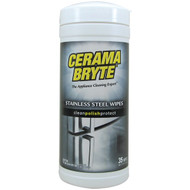 CERAMA BRYTE 48635 Stainless Steel Cleaning Wipes, 35-ct (R-GVI48635)