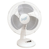 "COMFORT ZONE CZ161 16"" Oscillating Table Fan (R-HBCCZ161)"