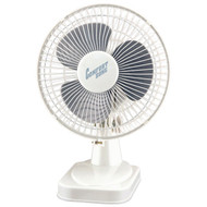 "COMFORT ZONE CZ6D 6"" Table Fan (White) (R-HBCCZ6D)"