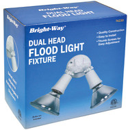 BRIGHT-WAY 74230 Dual-Head Outdoor Flood Light Fixture (R-HBCL74230)