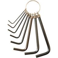 KC PROFESSIONAL 97321 8-Piece Metric Hex Key Set (R-HBCL97321)