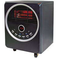 COMFORT ZONE CZ2012 Quartz Infrared Heater with Remote (R-HBCLCZ2012)