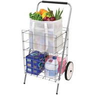 HELPING HAND FQ3915D 2-Wheel Folding Cart with Folding Shelf (R-HBCLFQ3915D)