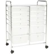 HONEY-CAN-DO CRT-01683 12-Drawer Rolling Cart (R-HCDCRT-01683)