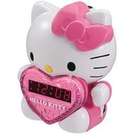 HELLO KITTY KT2064 AM/FM Projection Alarm Clock Radio (R-HKT2064)
