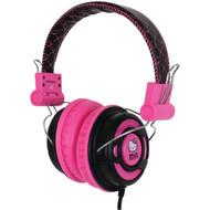 HELLO KITTY KT2091BP Over-the-Ear Foldable Headphones (R-HKT2091BP)