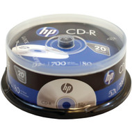 HP CR52020CB 700MB CD-Rs, 20-ct Spindle (R-HOOCR52020CB)
