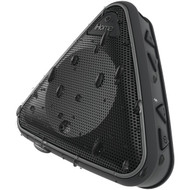 IHOME iBT3BC Splashproof Bluetooth(R) Speaker with Speakerphone (Black) (R-IHMIBT3BC)