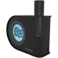 IHOME IH402B Dual-Charging Dual Alarm Clock with USB & Removable Power (R-IHMIH402B)