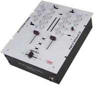 Epsilon Ultra Compact Pro Dj Battle Mixer With Built In Mini Inno (White) (R-INNOMIX2WHITE)