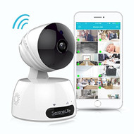 IP Camera WiFi Cam  - HD Network Camera with Remote App Control, 720p (R-IPCAMHD30)