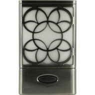 GE 11318 Faux Brushed-Nickel Rechargeable Decorative LED Night-Light (R-JAS11318)