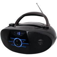 JENSEN CD-560 Portable Stereo CD Player with AM/FM Stereo Radio & Bluetooth(R) (R-JENCD560)