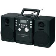 JENSEN CD-725 Portable CD Music System with Cassette & FM Stereo Radio (R-JENCD725)