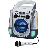 KARAOKE NIGHT KN275 CD+G Karaoke Machine with Dancing Water LED Light Show (R-JENKN275)
