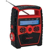 FIRST ALERT SFA1180 Portable AM/FM Weather Radio with Alarm Clock (R-JENSFA1180)