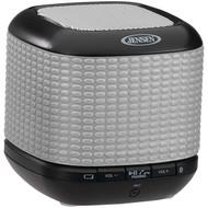 JENSEN JENSMPS621R Portable Bluetooth(R) Speaker (Silver) (R-JENSMPS621S)