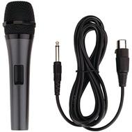 KARAOKE USA M189 Professional Dynamic Microphone with Detachable Cord (R-JSKM189)