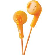 JVC HAF160D Gumy(R) Earbuds (Orange) (R-JVCHAF160D)
