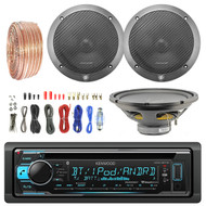 "12"" Single Voice Coil Subwoofer,6.5"" Speakers, Bluetooth CD Radio,Amp Wiring Kit (R-KDCBT31-1-L65S-L0S412)"
