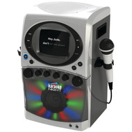 "KARAOKE NIGHT KN355 CD+G Karaoke System with LED Light Show & 5.5"" Monitor (R-KN355)"
