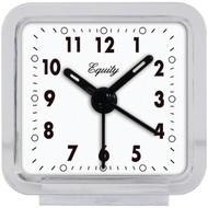 EQUITY BY LA CROSSE 21038 Clear Quartz Alarm Clock (R-LCR21038)