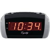 EQUITY BY LA CROSSE 30240 Super-Loud LED Alarm Clock (R-LCR30240)