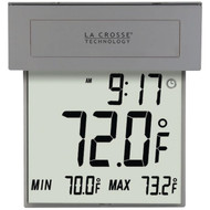 LA CROSSE TECHNOLOGY 306-605 Solar Window Thermometer (R-LCR306605)