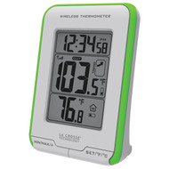 LA CROSSE TECHNOLOGY 308-1410GR Digital Indoor/Outdoor Thermometer (R-LCR3081410GR)