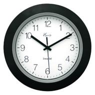 "EQUITY BY LA CROSSE 40222B 10"" Black Insta-Set Wall Clock (R-LCR40222B)"
