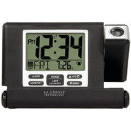 LA CROSSE TECHNOLOGY 616-1908-INT Travel Projection Alarm Clock (R-LCR6161908INT)