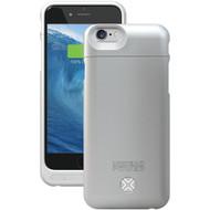 LENMAR BC6S iPhone(R) 6/6s Power Case (Silver) (R-LENBC6S)