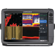 LOWRANCE 000-11798-001 HDS-12 Gen3 Insight(TM) Fishfinder/Chartplotter with 83/200kHz Transducer & Lowrance SmartSteer(TM) (R-LRN11798)