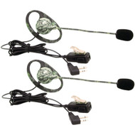 MIDLAND AVPH7 2-Way Radio Accessory (Outfitters Camo GMRS Headset with Microphone & PTT, 2 pk) (R-MDLAVPH7)
