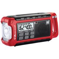 MIDLAND ER200R Emergency Dynamo Crank Radio, Refurbished (R-MDLER200R)