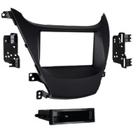 METRA 99-7362B 2014 & Up Hyundai(R) Elantra Single-DIN Installation Kit, Black (R-MEC997362B)