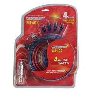 Maxpower 4 Gauge Amplifier Kit 1600W (R-MP4GK)