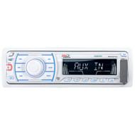 Boss Marine In-Dash Single Din Digital Media MP3/AM/FM Stereo Radio Receiver (R-MR1307UA-1)