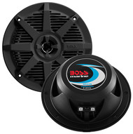 "Boss 5.25"" 2-Way Coaxial Marine Speaker 150W Black (R-MR52B)"